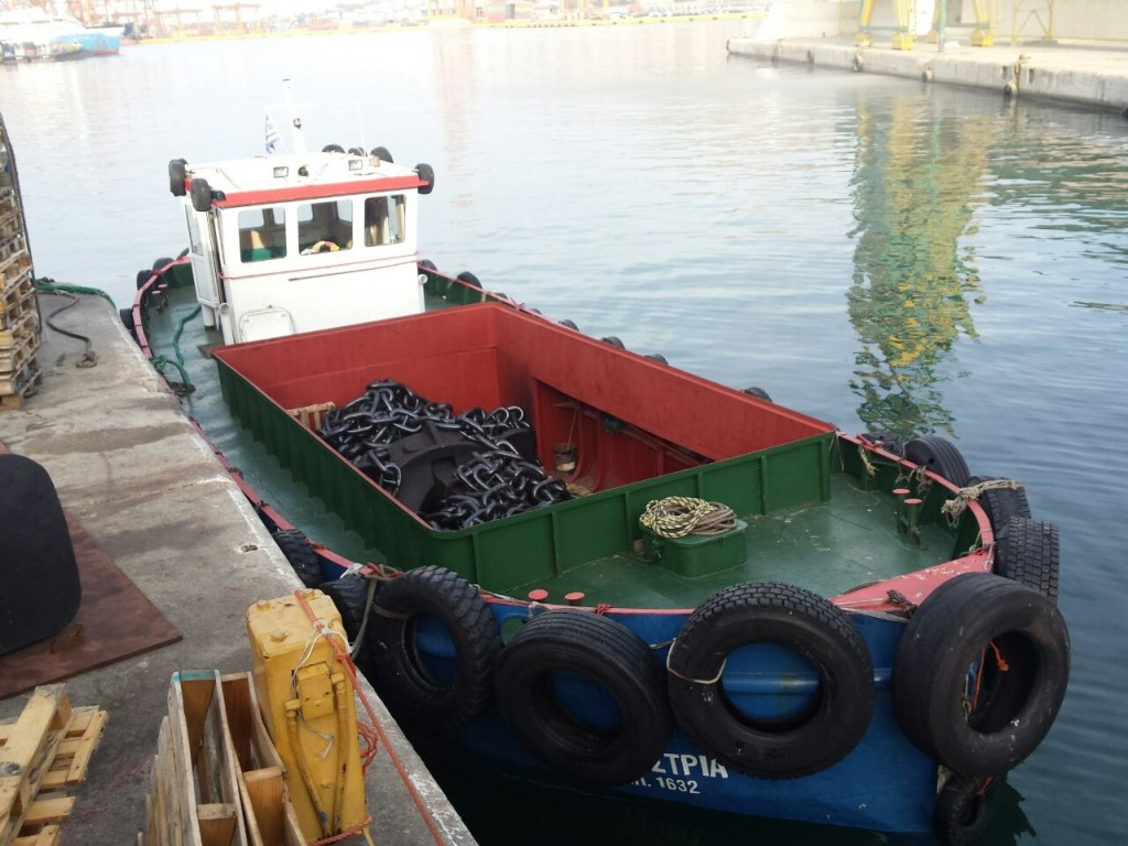 supply boat- ευαγγελιστρια